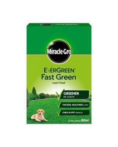 Miracle Gro EverGreen Fast Fast Green Lawn Food - 2.8kg