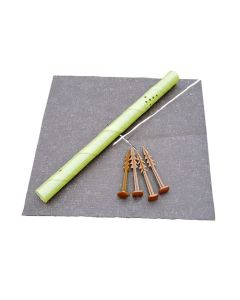 Biodegradable Weed Mat With Slit - 50cm x 50cm (100)