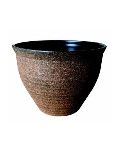 Decorative Bell Planter - Brown 16ltr