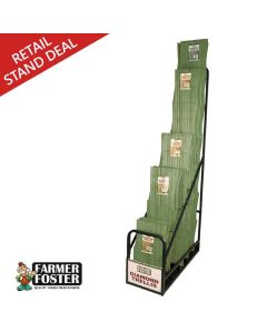 Farmer Foster Green Diamond Trellis Merchandiser Deal