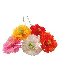 Rose of Sharon Flowers (Assorted Colours) (Pack of 100)