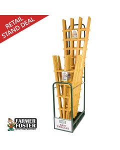Farmer Foster Natural Fan Trellis Merchandiser Deal