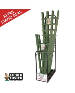 Farmer Foster Green Fan Trellis Merchandiser Deal