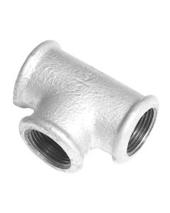 Galvanised Equal Female Tee Fitting - Various Sizes