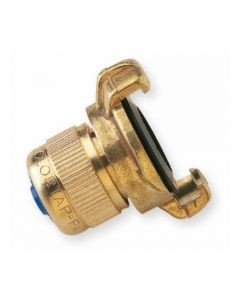 """¾"""" Coupler With Compression Hose Tail - Snap Coupling"""