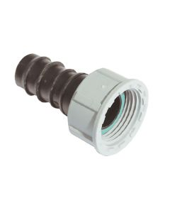 """20mm x ¾"""" BSP Barbed Female Connector - Barbed Fitting"""