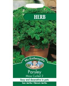 Mr Fothergills Herb Seeds - Herbs Parsley Moss Curled 2