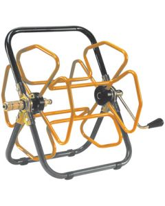 "Tubular Steel Hose Reel To Fit ½"" Hose Up To 50m Coil"