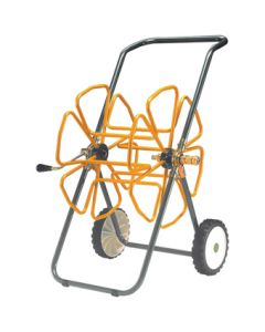 "Tubular Steel Hose Trolley To Fit ½"" Hose Up To 100m Coil"