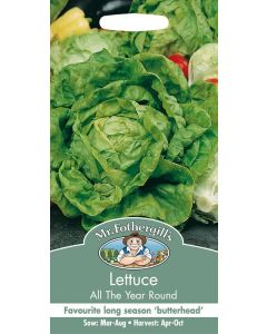 Mr Fothergills Vegetable Seeds - All Year Round Lettuce Seeds