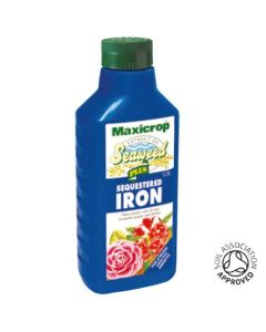 Maxicrop Seaweed Extract PLUS Sequestered Iron - 1ltr - Single