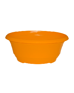 Plastic Bowl - Orange (23cm)