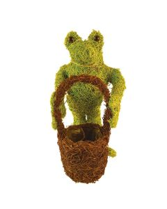 Small Green Frog Planter (Single)