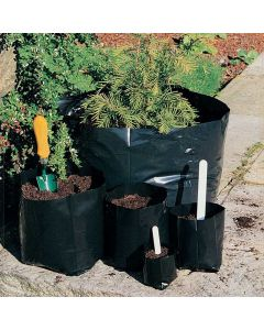 Black Polythene Polypot Containers - Various Sizes