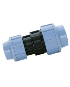 32mm x 25mm Reducing Coupler - MDPE Pipe Fitting