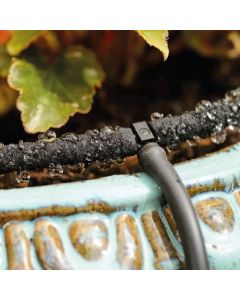 Micro Bore 5mm Drip Irrigation Pipe by Porous Pipe - 25m Roll