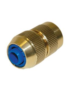"""½"""" Hose End Connector With Stop - Hose Fittings"""