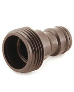 """Plastic Hose Fitting: ¾"""" Male Threaded Connector"""