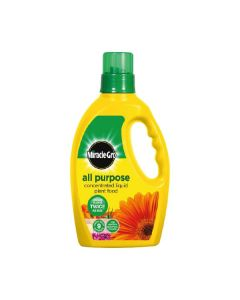 Miracle Gro All Purpose Concentrated Liquid Plant Food - 1ltr