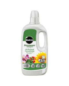 Miracle Gro Organics All Purpose Liquid Concentrated Plant Food - 1ltr