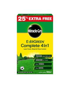 Miracle-Gro Evergreen Complete 4 in 1 - 2.8kg + 25% Extra Free