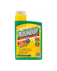 Roundup TRU Optima+ Weedkiller - 1ltr Concentrate (6)