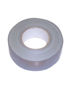 50m Heavy Duty Silver Cloth / Duct Tape