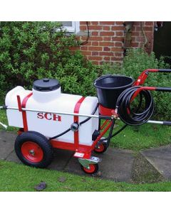70ltr Trolley Sprayer with Long Hose and Lance Extension