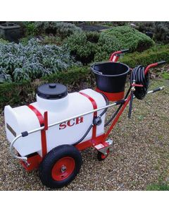 70ltr Trolley Sprayer with Hose Reel and 20mtr Hose