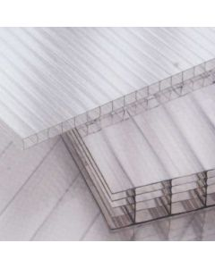 2.1m UV Protected Polycarbonate Sheet - 6mm (1300g/m2) Twinwall - Various Sizes