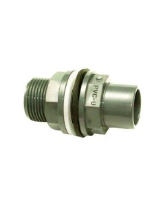 PVC Tank Connector Pipe Fittings - Various Sizes