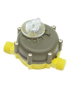 "¾"" 0 - 10,000ltr Volume - Water Metering Shut-Off Valve"